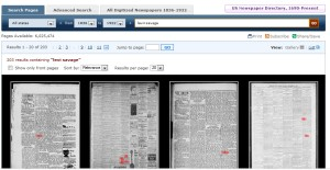 Example of search at LOC