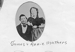 James and Annie Mathers